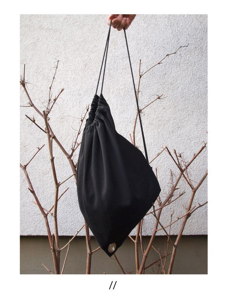 MINIMAL BAG /ONLINE SHOP/ http://pl.dawanda.com/product/100902447-torba-worek