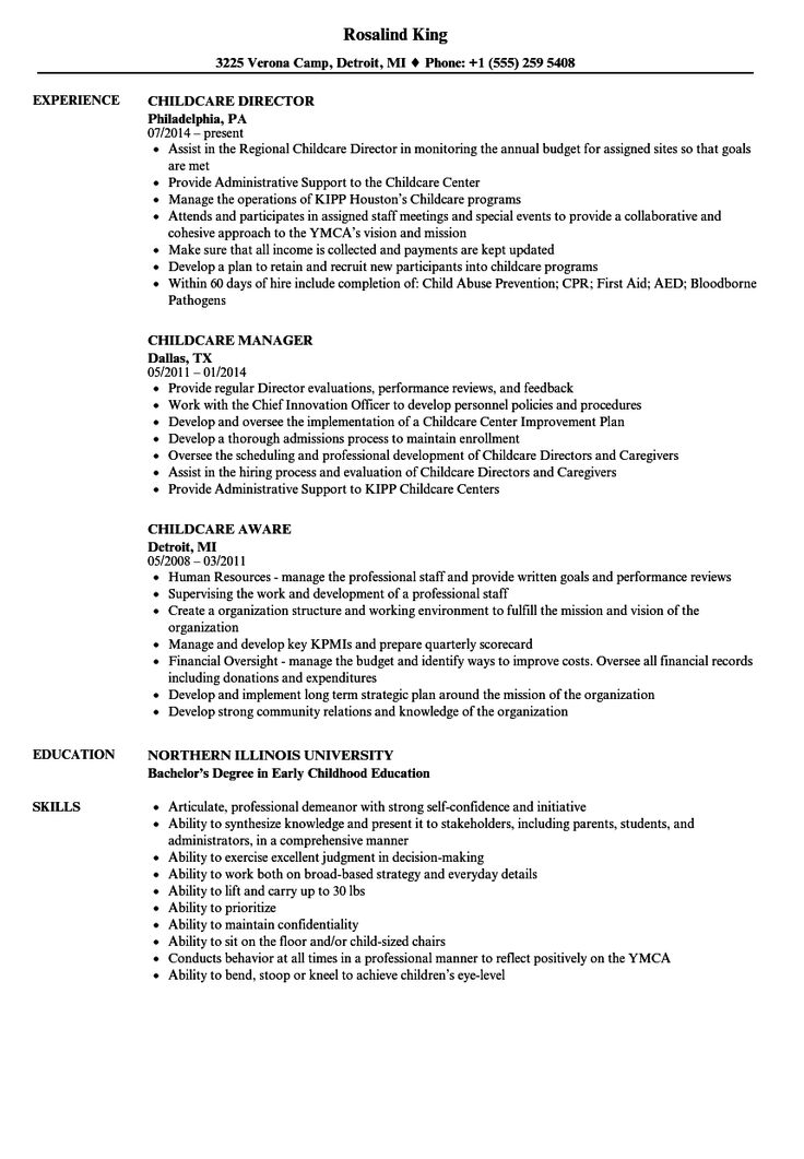Child care provider resume check more at http