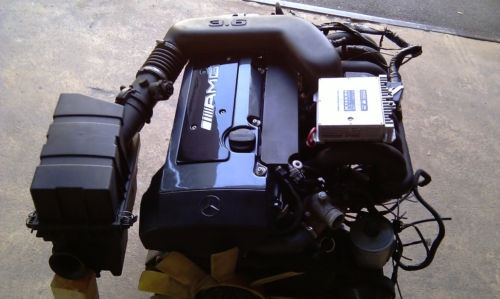 c36 amg engine and ecu