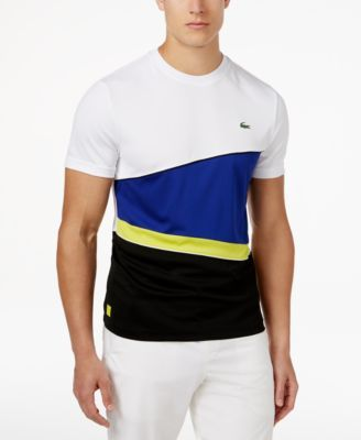 Lacoste Men's Colorblocked Performance T-Shirt | macys.com