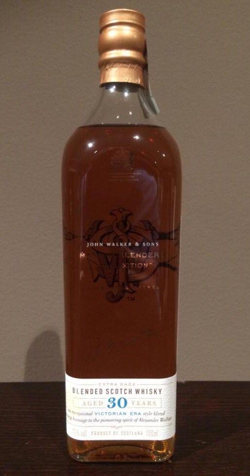 Johnnie Walker Master Blenders Victorian Era Edition