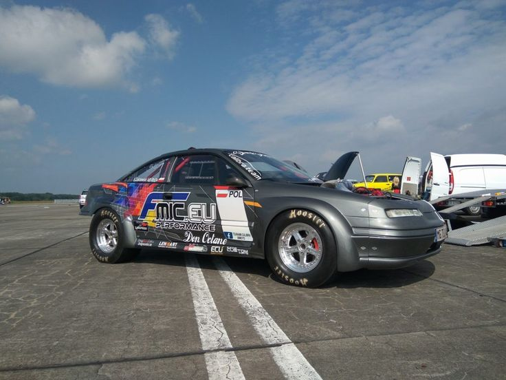 "Opel Calibra ""Tsunami"" with Twin VR6 engines that produce 2,200+ hp"