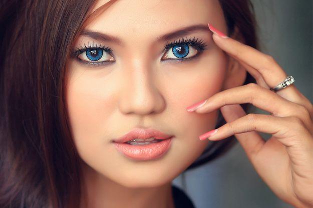 Макияж на последний звонок для голубоглазых девушек ::: onelady.ru ::: #makeup #eyes #eyemakeup