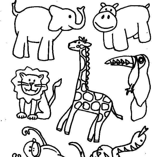 Vocabulary Set 2 Zoo Animal Coloring Pages Jungle Coloring Coloring Book Farm Animals Zoo Animal Coloring Pages Zoo Coloring Pages Farm Animal Coloring Pages