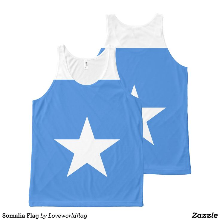 Somalia Flag All-Over-Print Tank Top - Comfy Moisture-Wicking Sport Tank Tops By Talented Fashion & Graphic Designers - #tanktops #gym #exercise #workout #mensfashion #apparel #shopping #bargain #sale #outfit #stylish #cool #graphicdesign #trendy #fashion #design #fashiondesign #designer #fashiondesigner #style
