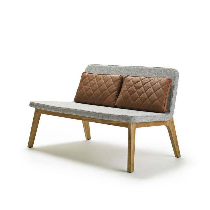 Gamfratesi Design Lean Small Sofa A Modern Lied To Traditional Craftsmanship An Upholstered S In Basic And Minimalistic Shape Is Leaning