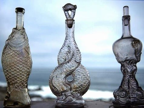 Nautical bottles.