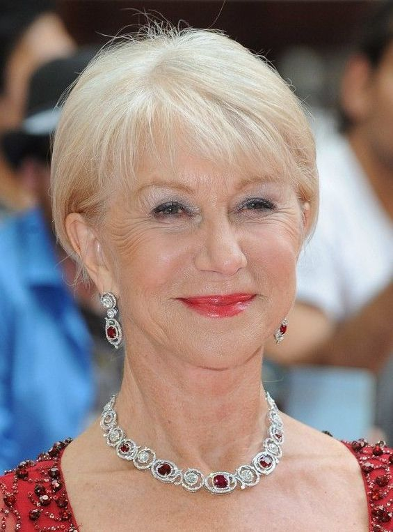 Thin Pixie Cuts For Older Women