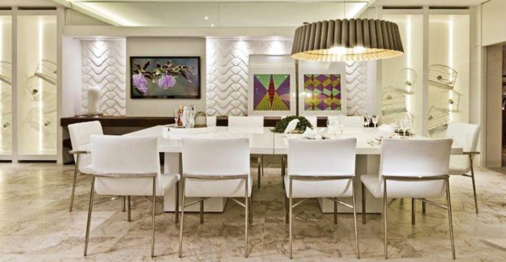 de jantar: saiba como inseri-la na decoração da sala ou da cozinha
