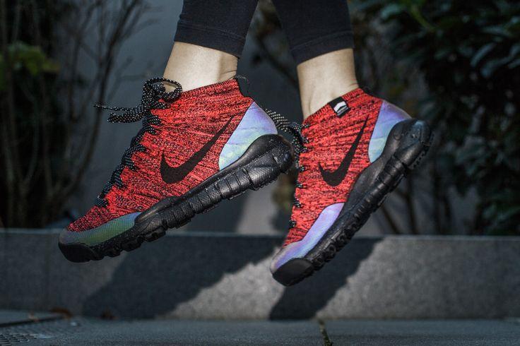 Nike Flyknit Chukka Grün