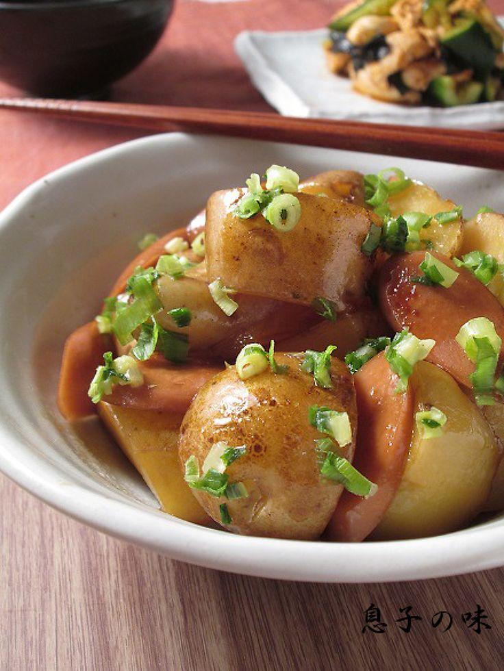 新じゃがと魚肉ソーセージの甘照り煮 by 近藤 章太 | レシピサイト「Nadia | ナディア」プロの料理を無料で検索
