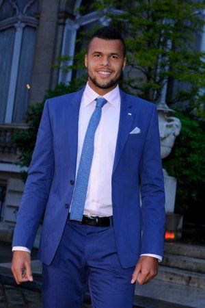 """Jo-Wilfried Tsonga is on a winning streak. Will he be on Tennis Channel's """"Best of 5 Heartthrobs""""? Tune in during the 2014 US Open to find out!"""
