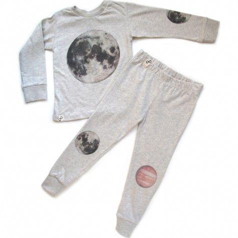 nightwear set (off white)