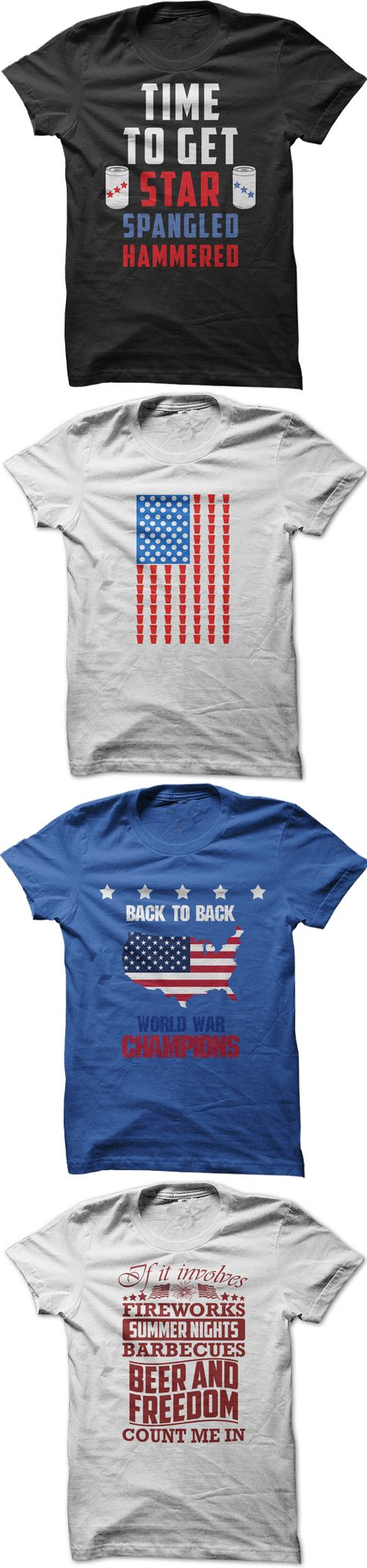 Awesome 4th of July Shirts, Check them Out if you are a True American!