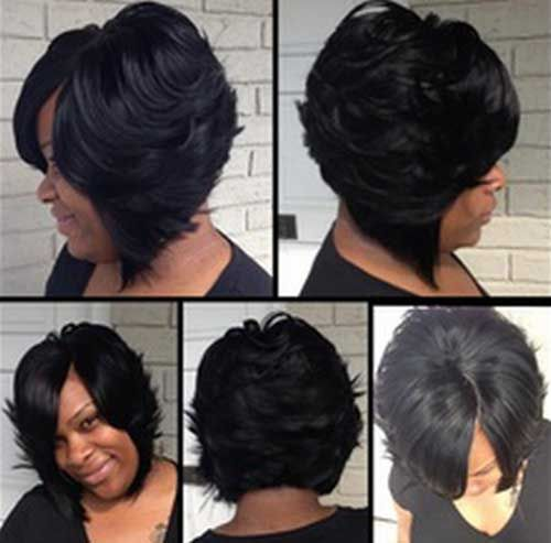 best 25 layered bob hairstyles for black women ideas on