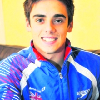 Olympic Diver for Team Great Britain: CHRIS MEARS.