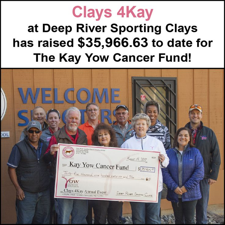 The numbers are in! Thank you to all those who participated and donated! Mark your calendars for the next Clays 4Kay on Friday, August 17, 2018!