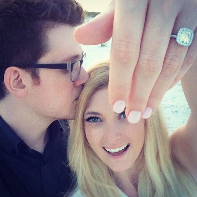I was so happy when I found out they were engaged I ligit cried happy tears