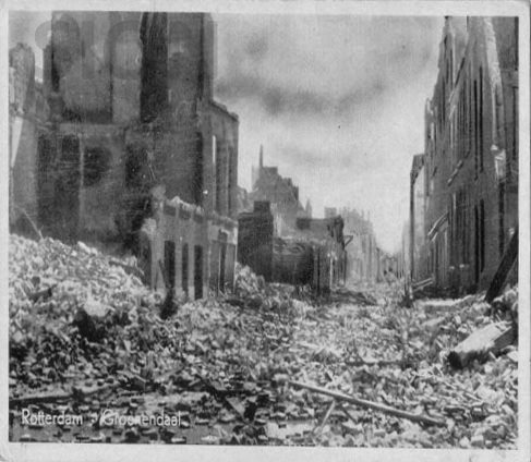 WW2 in the Netherlands - Rotterdam May 14th 1940 - Groenendaal