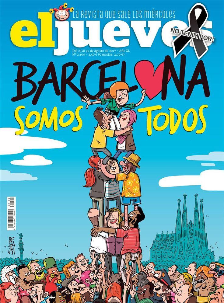 Atentado en Barcelona: El Jueves  Archivado en: España