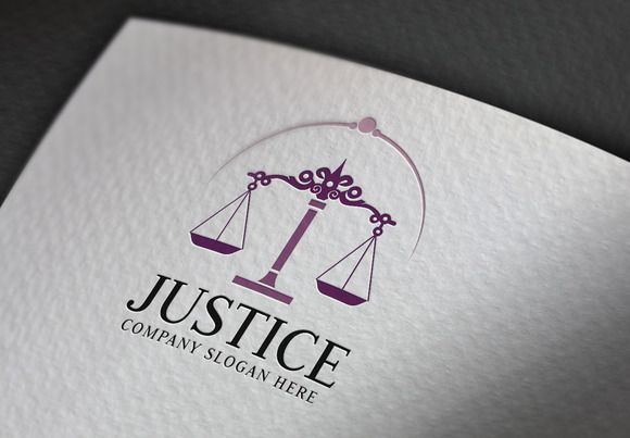 Justice Logo by eSSeGraphic on @creativemarket