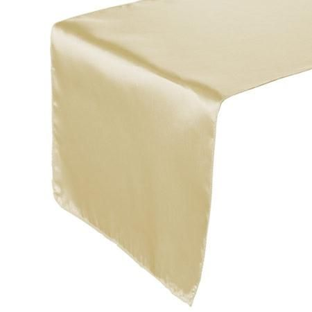 satin table runner choose your color