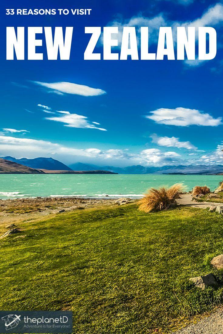 Lake Tekapo on the South Island, New Zealand | The Planet D Adventure Travel Blog: