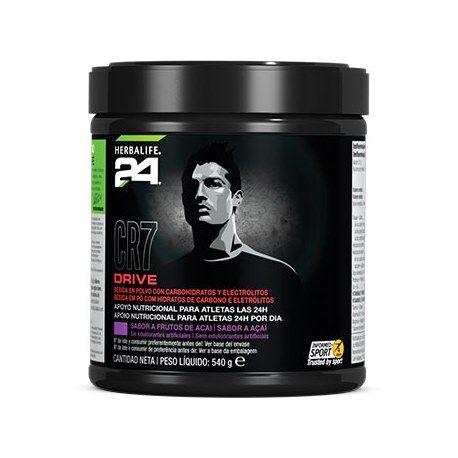 CR7 Drive es una bebida de carbohidratos y electrolitos que nos ayuda a mejorar la resistencia durante la realización de ejercicio físico prolongado, es perfecto  para tomar durante la realización del propio ejercicio o la práctica de deporte. http://enformaherbal.com/producto/cr7-drive/