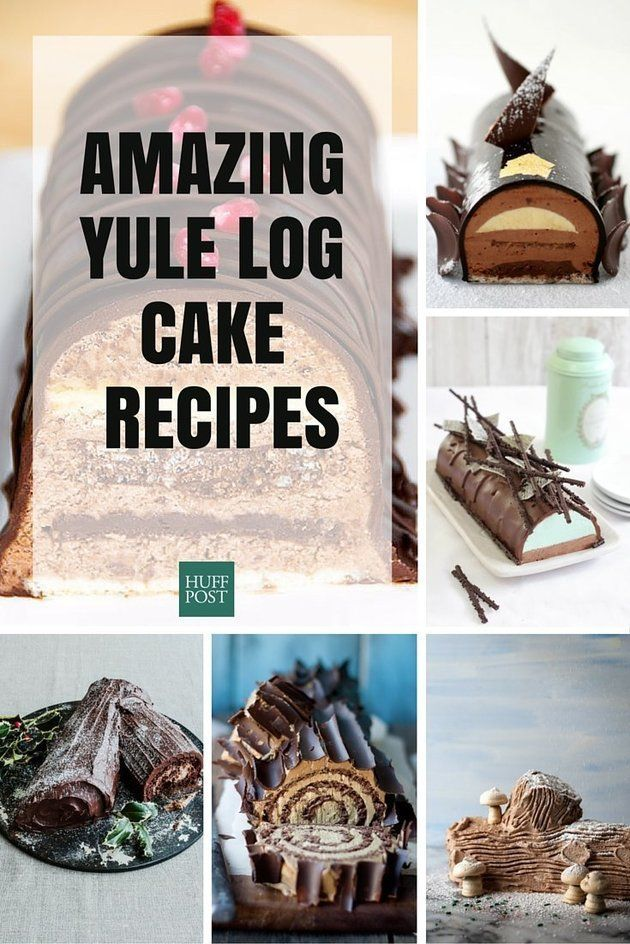 The Most Beautiful Yule Log Cakes Christmas Has Ever Known                                                                                                                                                                                 More