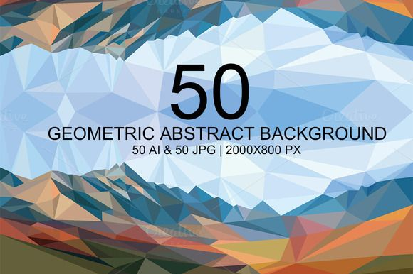 Check out new set of 50 Abstract Geometric Background by Distress on Creative Market