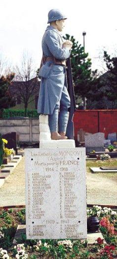 Monument aux morts, Éragny,  Val d'Oise