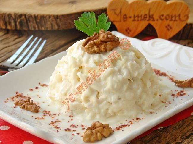 Yoğurtlu Kereviz Salatası Resimli Tarifi - Yemek Tarifleri