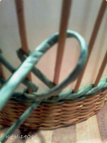 Мастер-класс Поделка изделие Декупаж Плетение И снова проба пера Бумага газетная Салфетки Трубочки бумажные фото 3