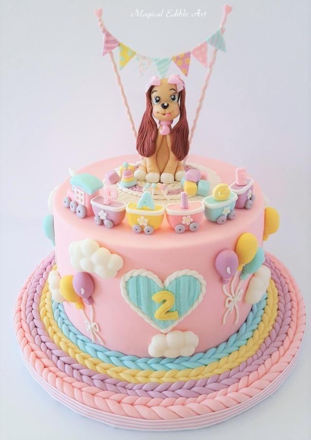 happy birthday baby girl cake