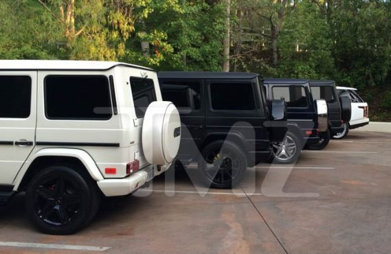 How many Mercedes-Benz G-Class' does the Kardashian family have? - http://www.nollywoodfreaks.com/how-many-mercedes-benz-g-class-does-the-kardashian-family-have/