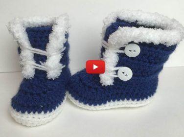 0-9 Aylık Bebekler İçin Bot Patik Yapımı – Bebekleriniz İçin Videolu Bot Patik Yapılışı