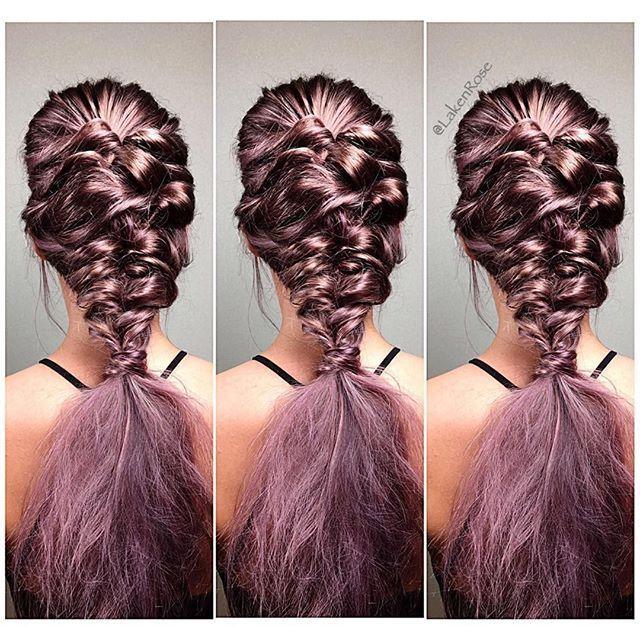 Brandied #braids by @lakenrosehair