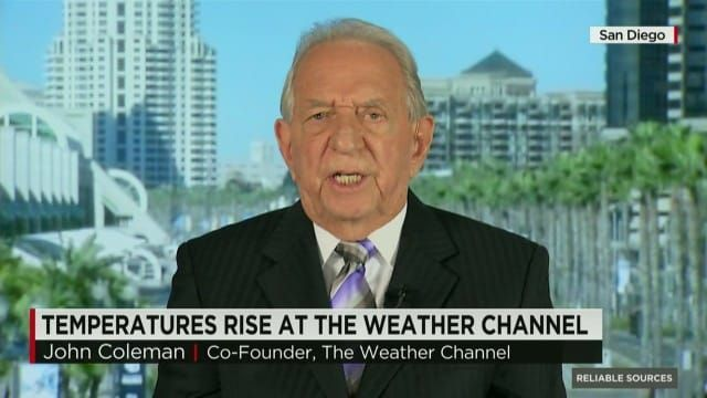 "The Founder of The Weather Channel Explains why ""CLIMATE CHANGE"" is a Lie! LIVE on CNN                  John Coleman, a founder of the Weather Channel, appeared on CNN to reiterate his stance that ""climate change is not"