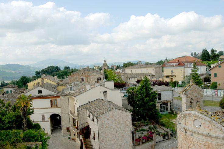 Panoramica di Ortezzano #marcafermana #ortezzano #fermo #marche
