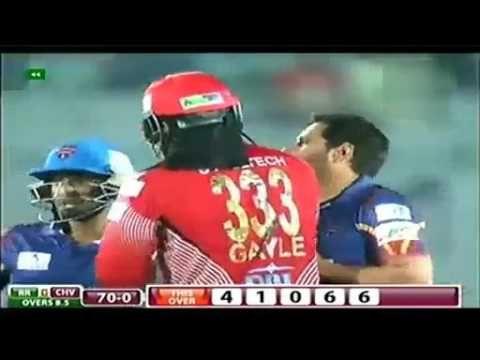 Shahid Afridi wicket of Chris Gayle Amazing Moments 2016