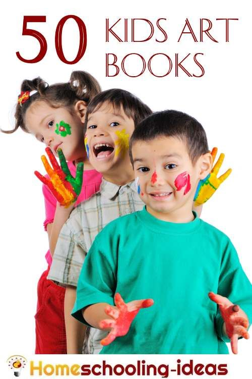 Kids Art Books - Art is an absolutely wonderful subject to cover in your…