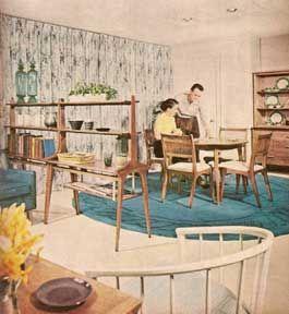 Better homes gardens decorating ideas 1001 ideas 1960 for Better homes and gardens dining room ideas