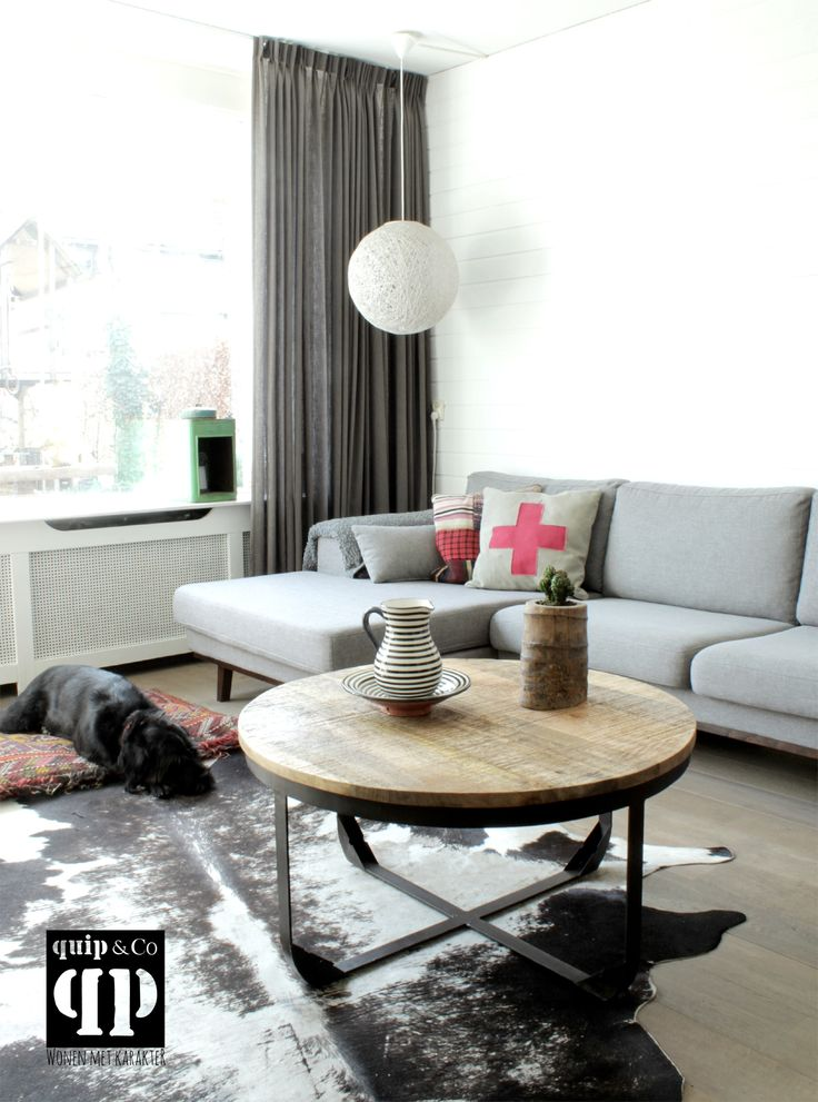 25+ beste ideeu00ebn over Industriu00eble Salontafels op Pinterest ...