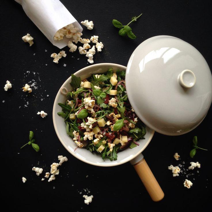 Lørdags luxus: Popcorn salat