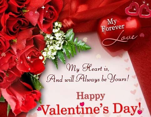 18 best valentines day greetings images on pinterest valentine send this heartfelt romantic card to your sweetheart to express your love on this valentines day free online my heart will always be yours ecards on m4hsunfo