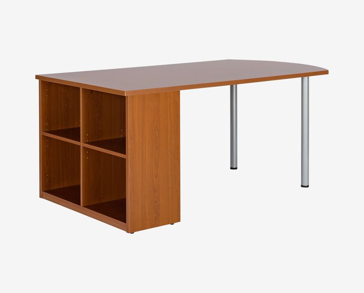 Superb Scandinavian Designs   The Network Plus Peninsula Desk Is A Contemporary  Style Designed For Space Saving Convenience. One Side Is Supported By Two  Metal ... Nice Design