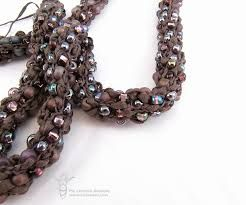 Knitted Jewellery Patterns : beaded french knit jewelry patterns - Google Search french knit jewellery ...
