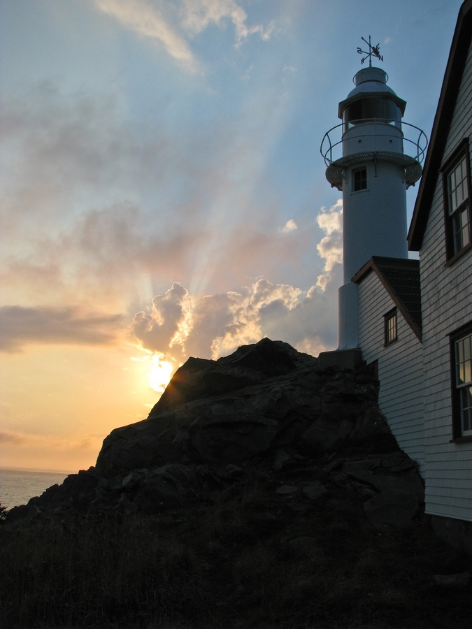 Sunset at Lobster Cove Head Lighthouse by Brittany Taylor, via 500px