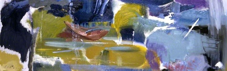Ivon Hitchens The Brown Boat