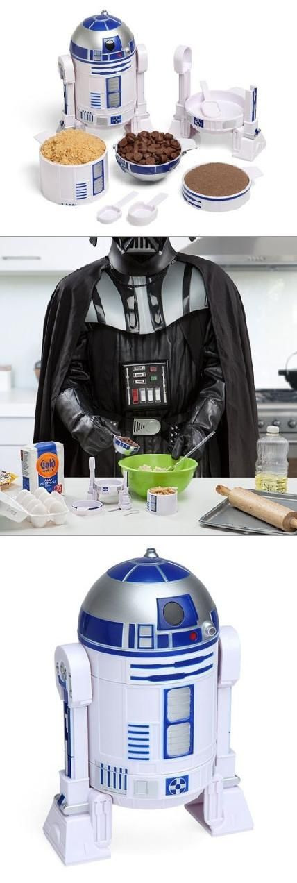 R2D2 measuring cups? Darth Vader approves!